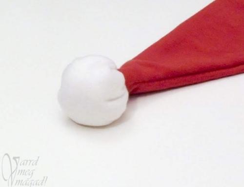 Textil golyó – pompon helyett