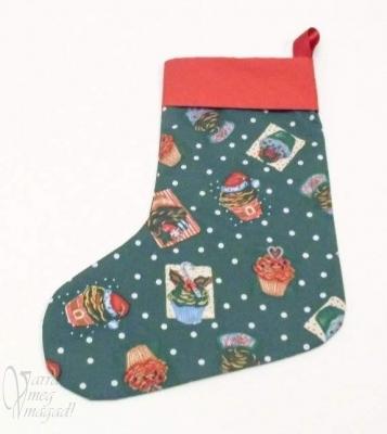 A kész karácsonyi zokni