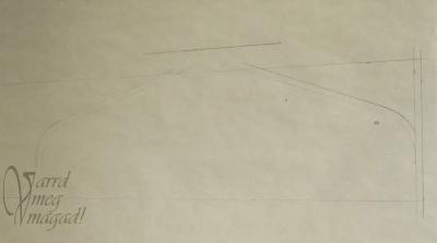 10. Rajzold be a zsák tetejének a varrásráhagyását