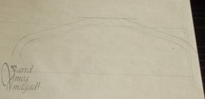 11. Rajzold be a zsák vállának a varrásráhagyását is